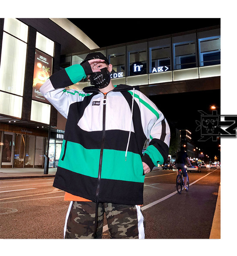 Autumn Spring Jacket Windbreaker Korean Men Hip Hop (15)