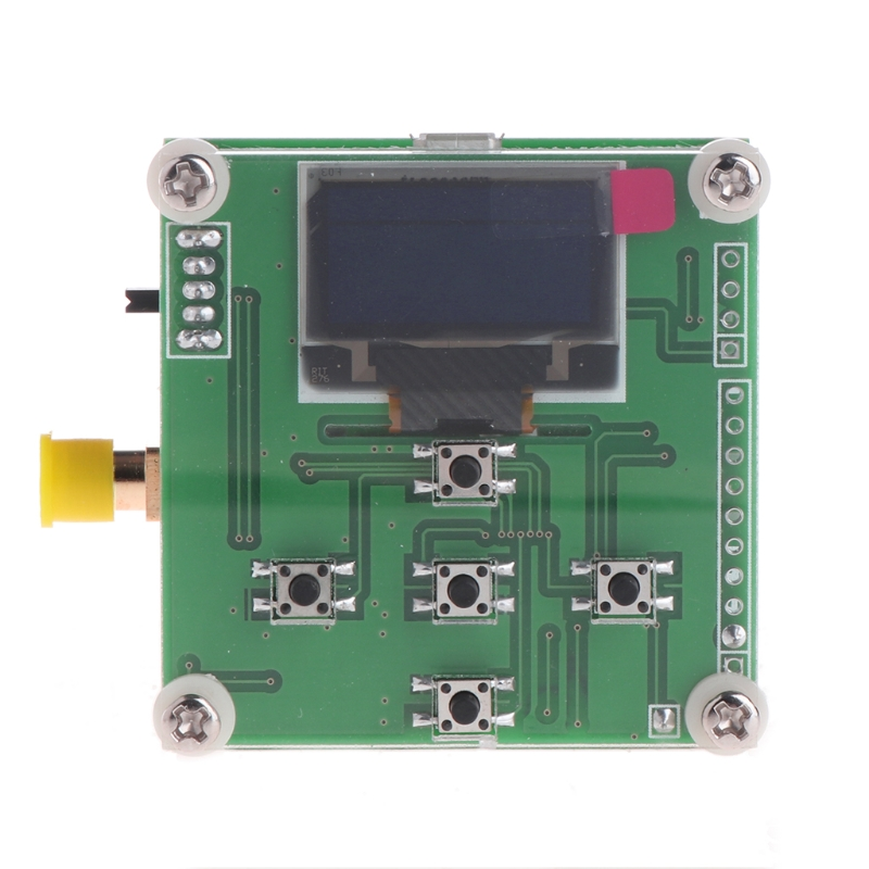 Good Quality 8GHz 1-8000Mhz OLED RF Power Meter -55-5 dBm + Sofware RF Attenuation Value new 8ghz oled lcd power meter 45 5 dbm sofware rf attenuation value digital a7 014