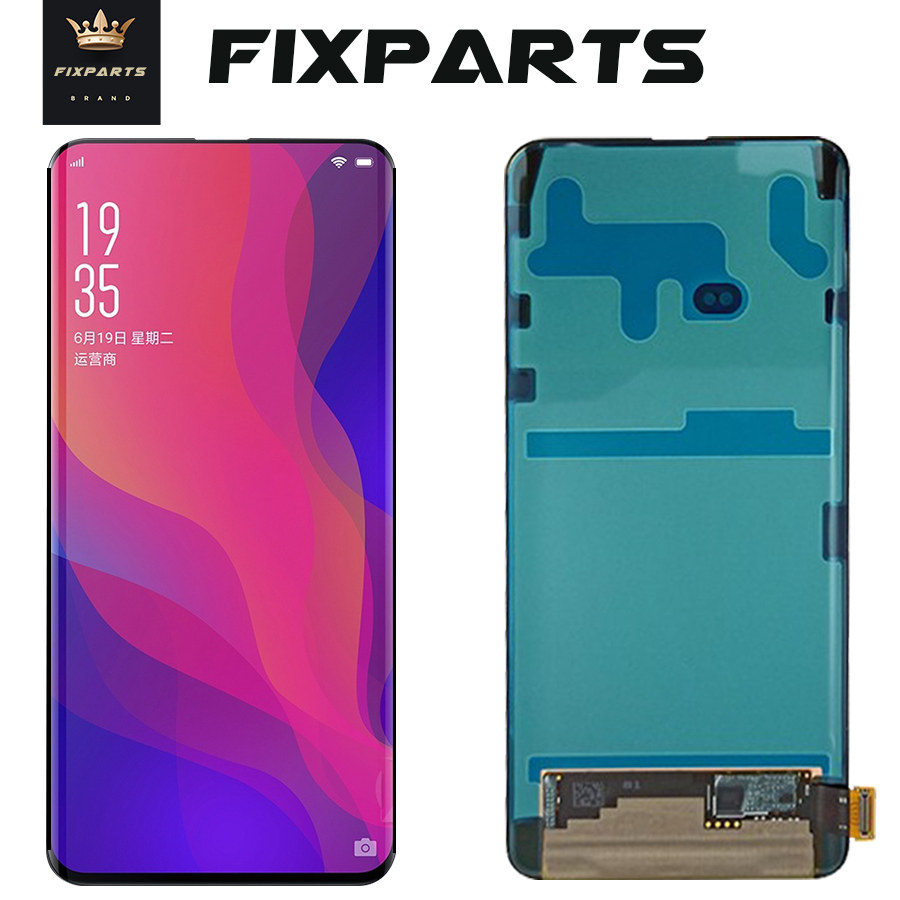 Test Working Original LCD OPPO Find X LCD Screen Display With Touch Panel Digitizer Assembly Repalcement Parts Oppo Find X LCD
