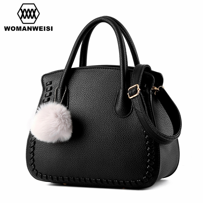 Fashion 5 Color Famous Designer Brand Women Leather Handbag Shell Bag European and American Style Female Messenger Bags 2018
