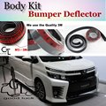 For TOYOTA Noah Voxy Nav1 Bumper Lip / Car Lip Shop Front Spoiler For Car Tuning / Scratch Proof Adhesive Body Kit + Strip Skirt