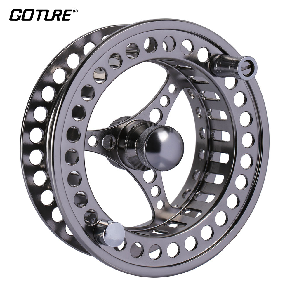Ambitious Goture Cnc Fly Fishing Reel Spare Spool 3/4 5/6 7/8 9/10 Wt Cnc Machine Cut Aluminum For Fly Fishing