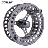 Goture CNC Fly Fishing Reel Spare Spool 3/4 5/6 7/8 9/10 WT CNC Machine Cut Aluminum for Fly Fishing