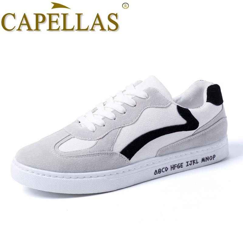 CAPELLAS Nuevos Hombres Primavera Zapatos Nueva Tendencia Hombres - Zapatos de hombre - foto 3
