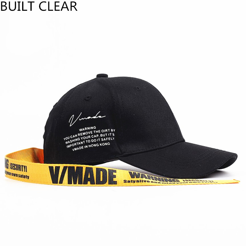 (BUILT CLEAR) casquette new high-grade printing long tail belt baseball cap snapback men and women casual adjustable fashion cap 2016 new new embroidered hold onto your friends casquette polos baseball cap strapback black white pink for men women cap