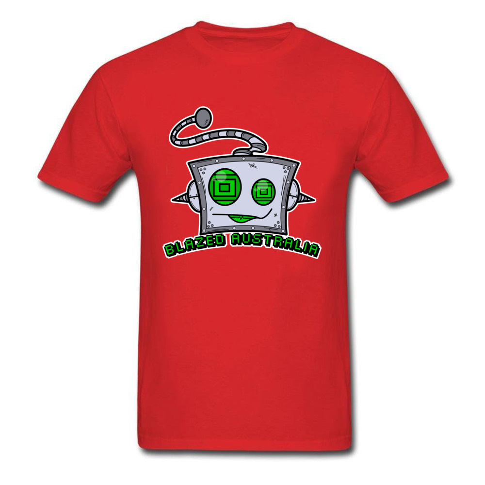 Dominant Blazed Bot Casual Short Sleeve T Shirt Father Day Crewneck 100% Cotton Fabric Tops & Tees for Men Tee Shirt Design