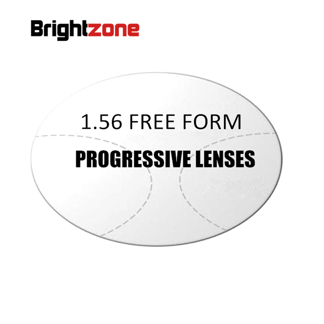 1.56 Interior Progressive multi-focus HC CR-39 aptitude lenses prescription lens for middle-old year people see near and far