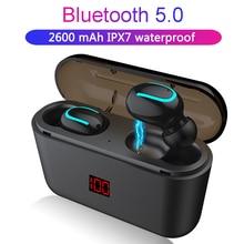 Bluetooth 5,0, наушники, TWS, беспроводные наушники Blutooth, наушники, свободные руки, спортивные наушники, игровая гарнитура, телефон, светодиодный дисплей