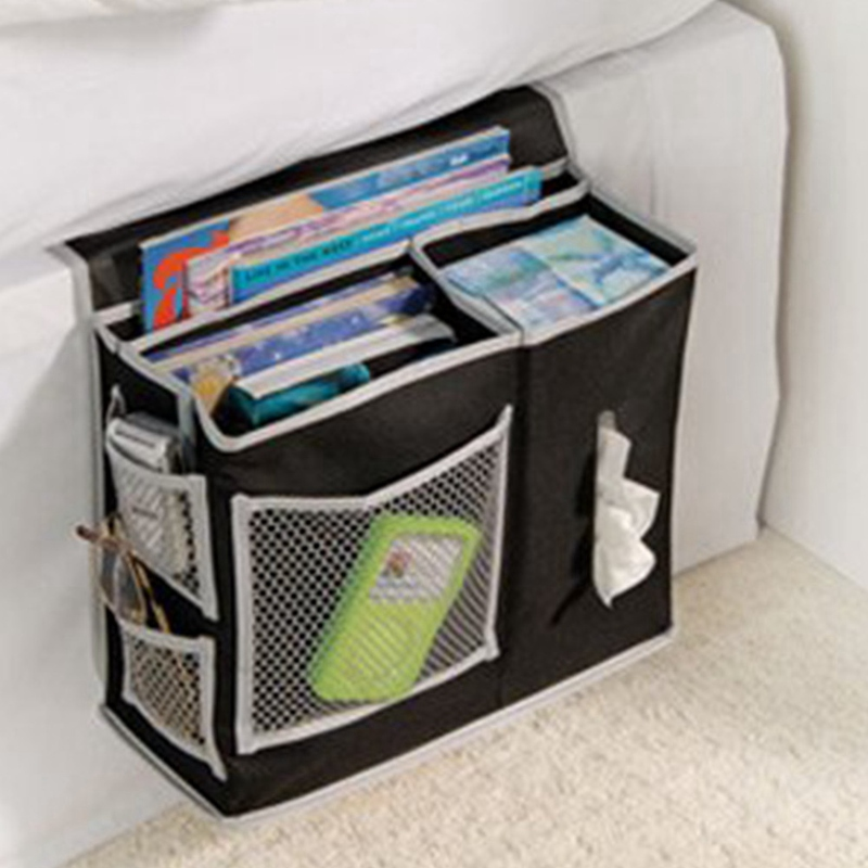 Online Household Bed Sofa Hanging Bedside Storage Bag Hang Sundries Magazines Remote Control Books Phone Tissue Holder Organizer Aliexpress Mobile