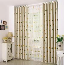 vorhang blackout 3d curtains tulle square tenda window Curtains for living room bedding
