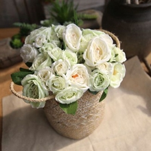 Linman Lu lotus wedding held flowers simulation artificial plant household decorative arts and crafts