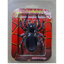 Novelty Kids Solar Powered Toy Mini Solar Spider Educational Robot Toy for Boys Girl Classic Toy Birthday Gift Home Deocration(China)