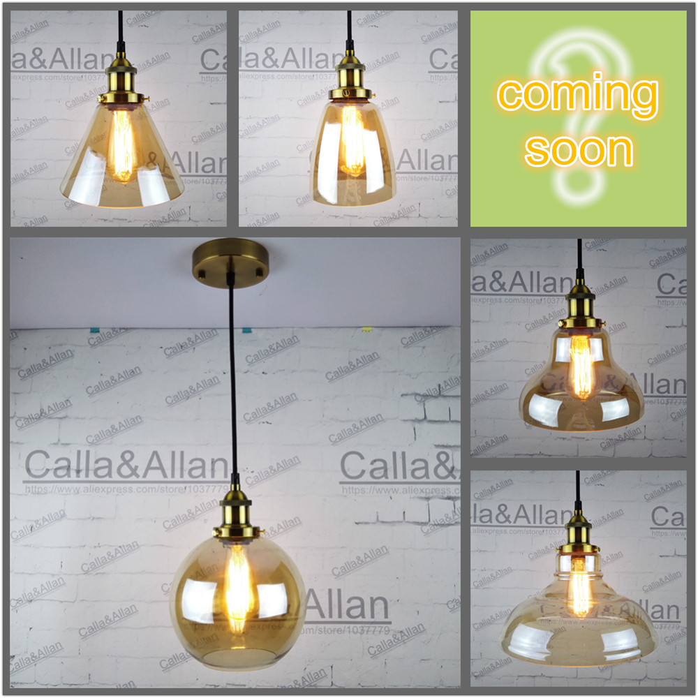 Vintage Pendant Light Glass Abajur Suspension Luminaire with brass ceiling Loft Retro E27 Lamp Industrial Home Lighting Fixture brass cone shade pendant light edison bulb led vintage copper shade lighting fixture brass pendant lamp d240mm diameter ceiling