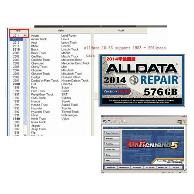 Förderung preis 2018 Neue auto reparatur software Alldata 10,53 und ...