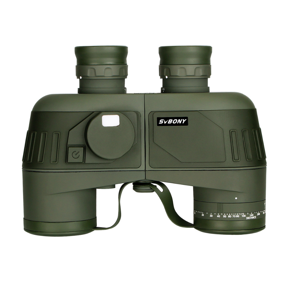 SVBONY Russian Military Binoculars 7x50 Waterproof Floating Marine Powerful Telescope SV27 w/Internal Rangefinder&Compass F9307