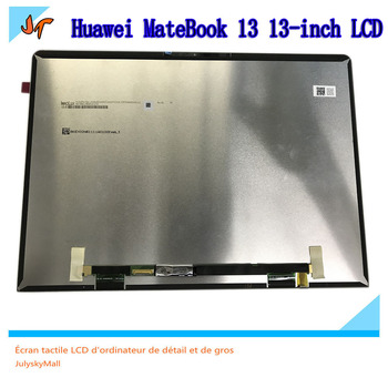 New original 13-inch laptop IPS LCD screen 2160x1440 resolution suitable for Huawei MateBook 13 WRT-W29 W29L display replacement