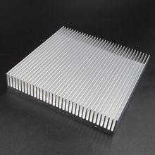 Алюминиевый Радиатор Охлаждения 90x90x15 мм Для СВЕТОДИОДНЫХ Power IC Транзистор DC Преобразователь
