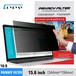 15.6 inch Privacy Filter Screens Protective film for 16:9 Laptop 13 7/16