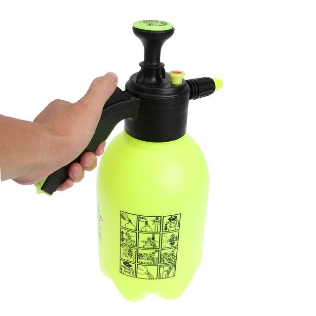 2L Garden Water Sprayer Portable Pressure Spray Bottle Kettle Plant Flowers Watering  Can Pressurized Sprayer Gardening