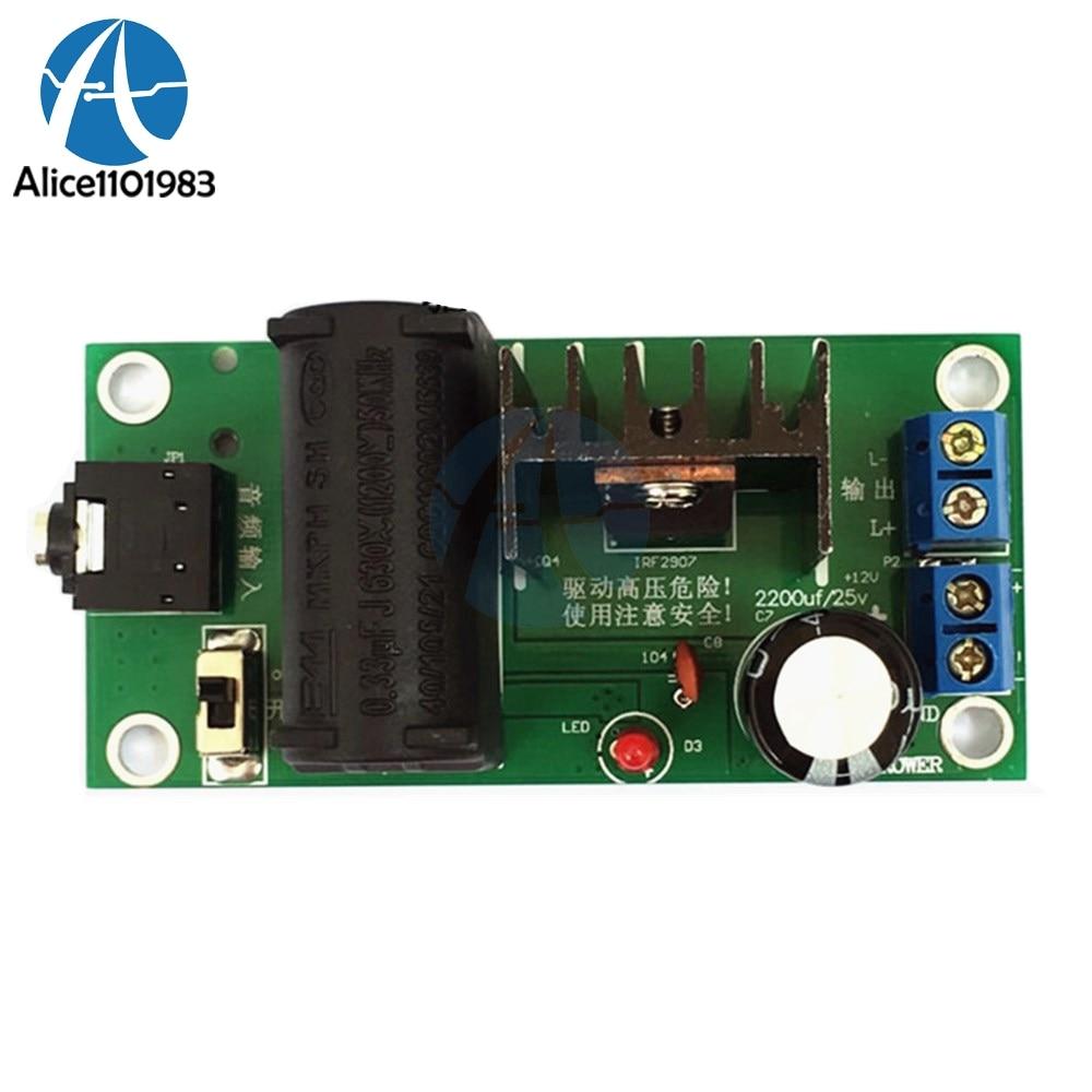 ZVS Tesla coil Booster High Voltage Generator Plasma Music Arc Speaker Kits 20KV