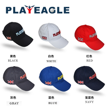 8c5ee16b9e5 2018 PLAYEAGLE Brand Breathable Quick Dry Cotton Snapback Caps Adjustable  Baseball Hats Adult Outdoor Sports Golf