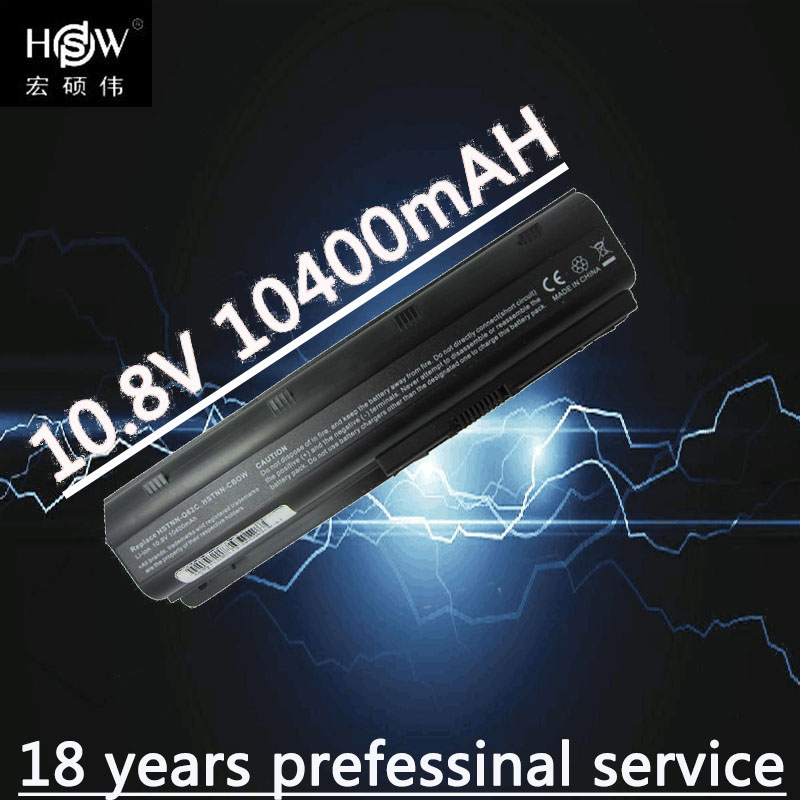 HSW 10400mAH Battery for hp Pavilion g6 dv6 mu06 586006-321 nbp6a174b1 586007-541 586028-341 588178-141 593553-001 batteria akku цена