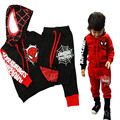 Baby Boy Clothes Sets Hooded Tracksuit Boys Clothes Spring Spiderman Kids Clothes for Children Cotton Boys Sweatshirt Suits