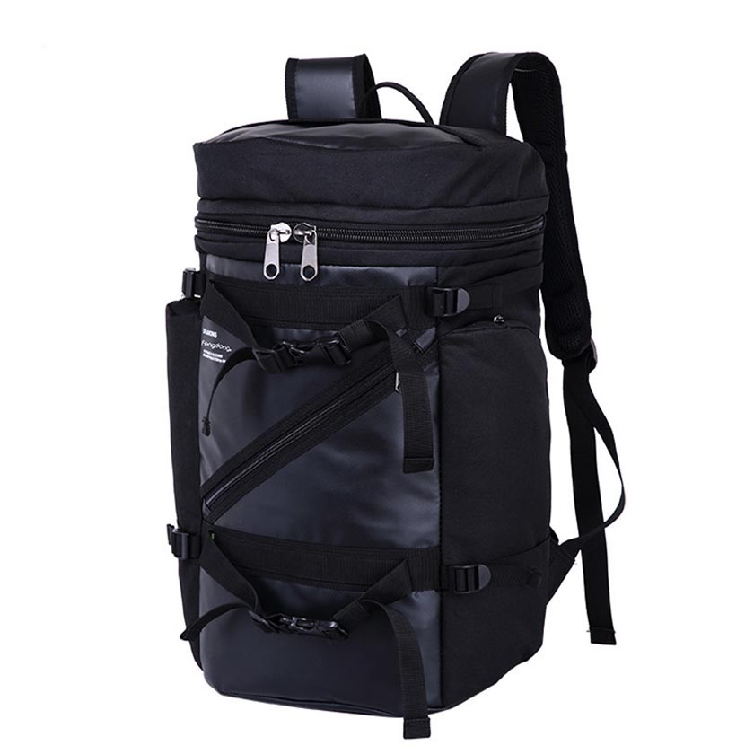 High quality large capacity waterproof male backpack men travel bags bagpack multifunctional black laptop backpack for boy bag large men s backpack fashion male 14 inches laptop bag travel bags high quality top leather men waterproof backpacks aw282