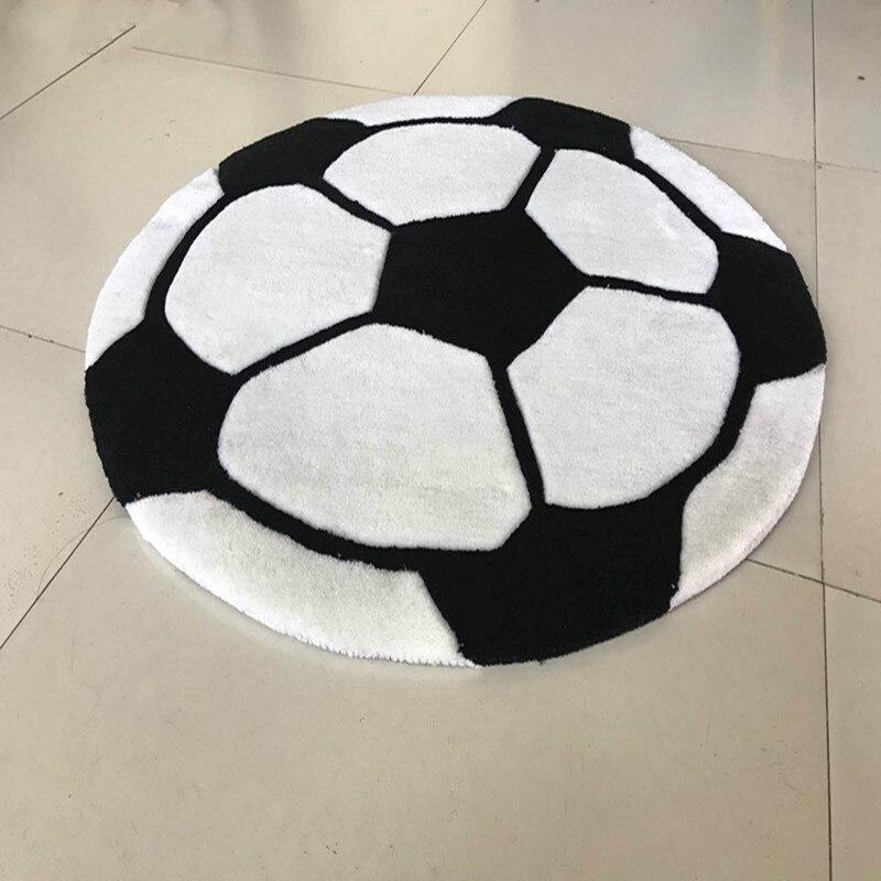 Special Cartoon Football Pattern Carpet Boy Children Room