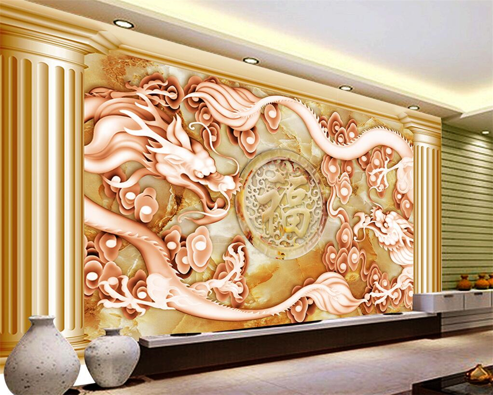 Beibehang custom wallpaper house decorative mural european for Custom wall mural from photo