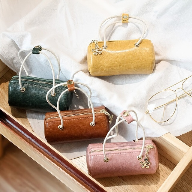 Women Mini Coin Purse Handbag Tote Candy Color Lovely Kids Girls Coin Purses Wallets hand bag totes Gifts