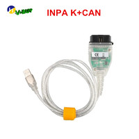 Auto car Diagnostic cables for BM INPA K can USB OBD2 Interface inpa k + dcan for BM hot selling