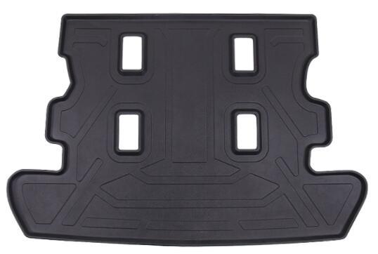 Spécial pour Toyota Land Cruiser modification intérieure garniture de coffre imperméable en caoutchouc