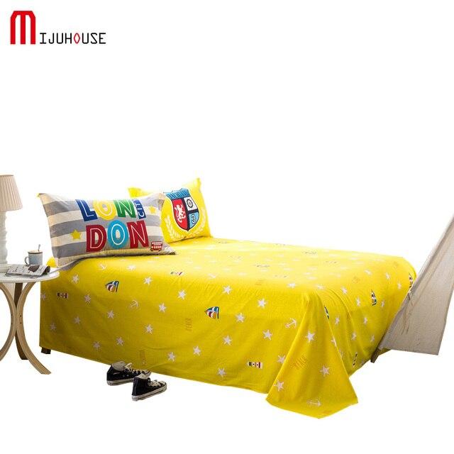 Home Textile 100% Cotton Bed Sheet Reactive Printing Character Image Sheets/Cotton  Bed Sheets