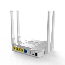 W MT7621 gigabit dwuzakresowy openwrt router wi fi openvpn router bezprzewodowy OpenWrt 802.11AC 1200Mbps 2.4G 5G MTK bezprzewodowe rozwiązanie