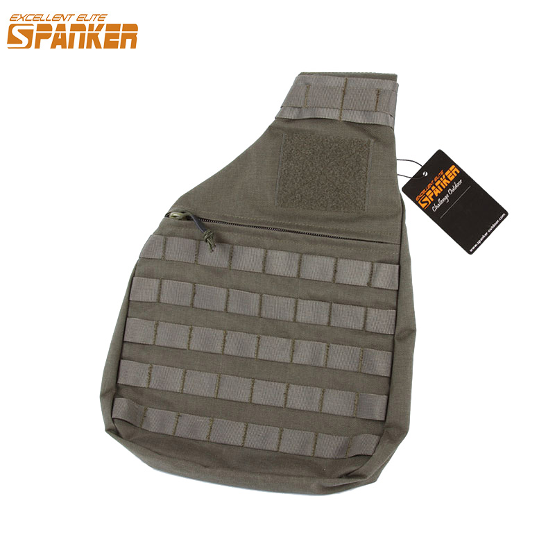 EXCELLENT ELITE SPANKER Outdoor Military Molle Inclined Shoulder Bags Tactics Nylon Mens Bags Hunting Waterproof Hiking Bag ...