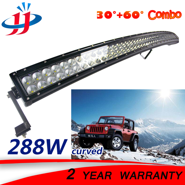 288w curved led light bar tractor trailer truck boat lighting 288w curved led light bar tractor trailer truck boat lighting offroad car boot auto parts 4x4 aloadofball Image collections