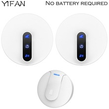 YIFAN self powered Waterproof Wireless DoorBell home Door Bell ring chime 180M l