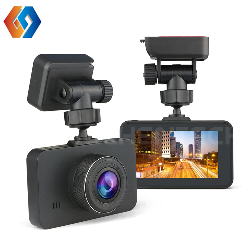 3 TFT 12v Car DVR full HD camera 1080P Pro Dash cam dual lens front and back video record optional rear cam/wifi/GPS tracking ...