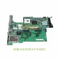 NOKOTION laptop motherboard For gateway P 6822 DDR2 MB 07201 1 48.4V601.011 Mainboard