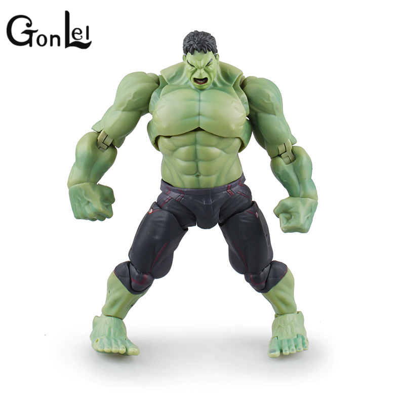 GonLeI Avengers SHF S.H.Figuarts Hulk PVC Action Figure Collectible Model Toy 19cm SA714 avengers movie hulk pvc action figures collectible toy 1230cm retail box