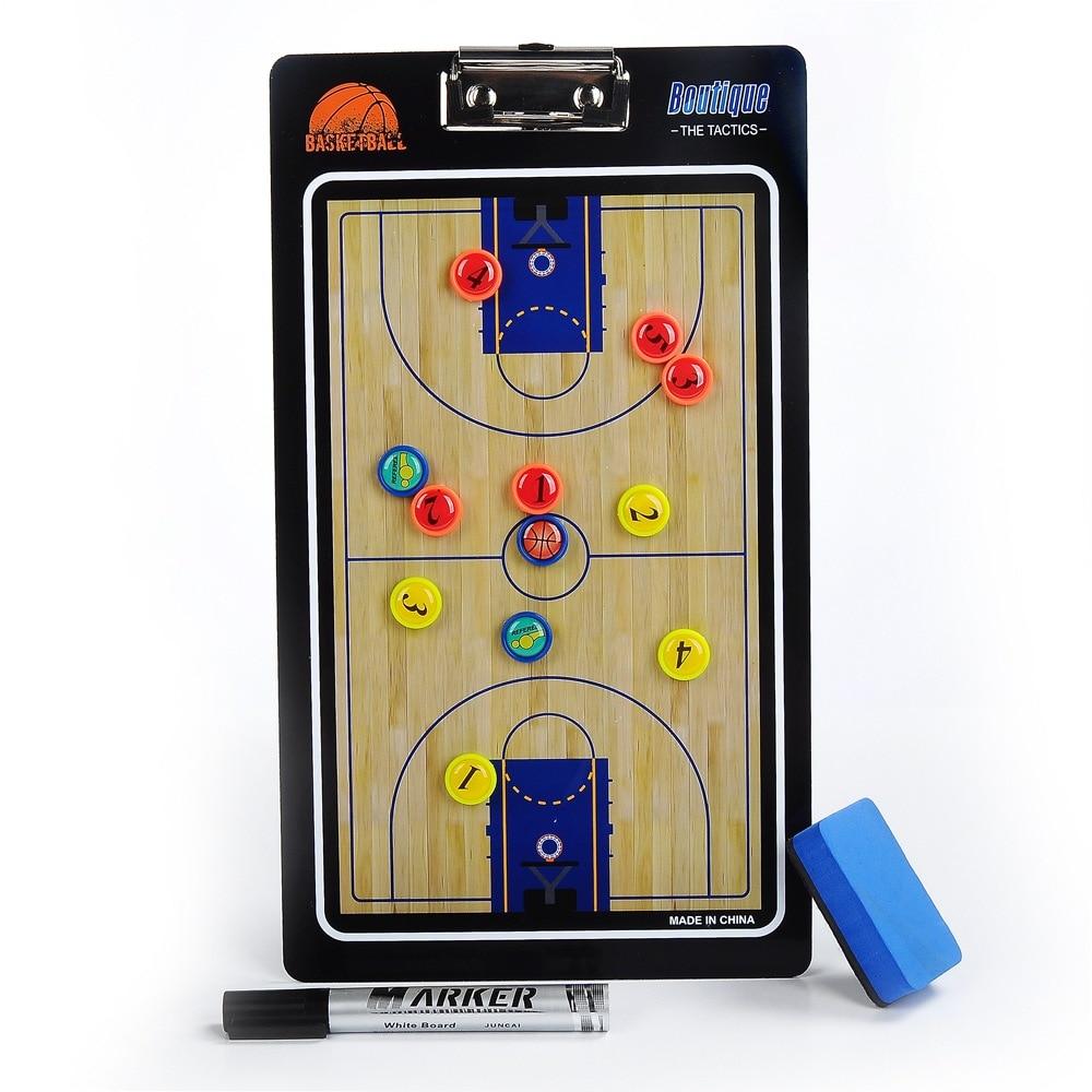 Wholesale PVC Basketball Tactical Board Coaching Board Magnetic Teaching Board