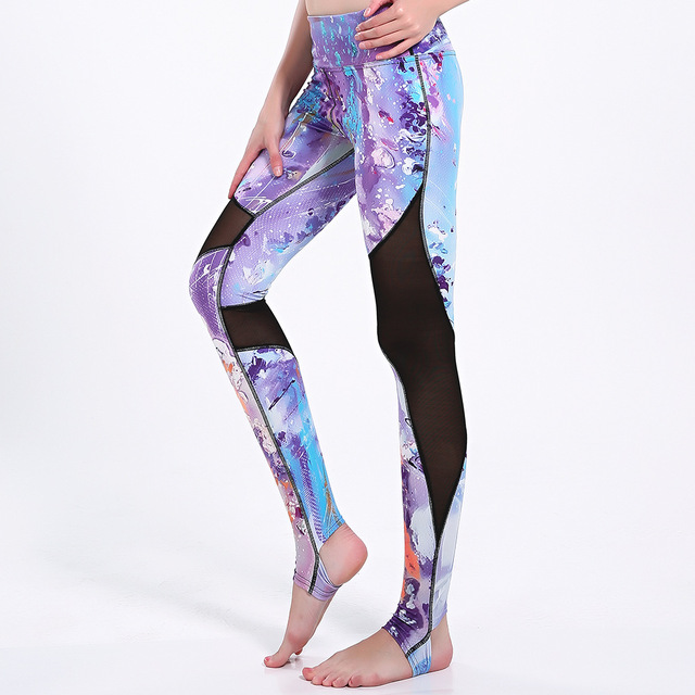 3b43283d17a16 Grande taille Plus XXXL Femmes libre circulation Étrier Trenca De Yoga  pantalon femelle de Sport leggings
