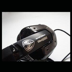 Image 2 - سماعة رأس سماعة الألعاب 7.1 الصوت Usb السلكية الاهتزاز سماعات مع ميكروفون الكمبيوتر المحمول العلامة التجارية الأصلية Somic G909 برو