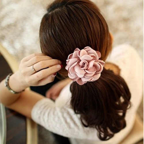 Fashion Elastic Hair Bands Girl Headband hairband Hair Accessories Hair Rope Ponytail Holde Ornaments Handmade Korean Jewelry