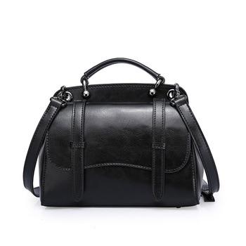 cowhide women handbag genuine leather bags ladies big shoulder handbags fashion women messenger bags casual tote sac 2019 C1047