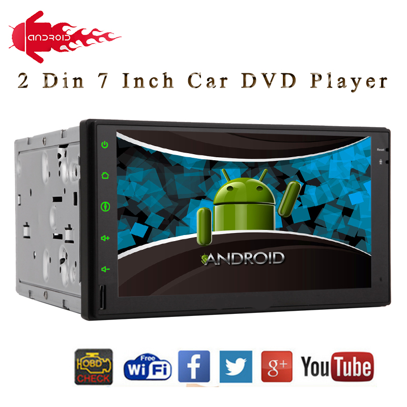 Double 2 Din font b Android b font 4 2 Car Radio Player Car Stereo HD