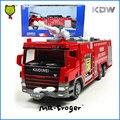 Mr. froger kdw diecast 1:50 agua modelos de coche de juguete camión de bomberos camión de bomberos de aleación de metal de colección kids toys para los niños