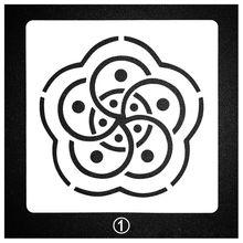 Тиснение бумажных карт ремесла Многослойные трафареты для рисунки на стену Скрапбукинг штамп фото декоративные украшения для камня стены искусства