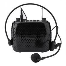 Профессиональный заряд батареи динамик громкий динамик Микрофон Усилитель Увеличение голоса усилитель для Мегафона для обучения руководство